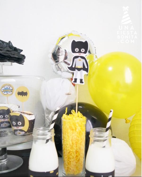 Imprimible Fiesta Batman