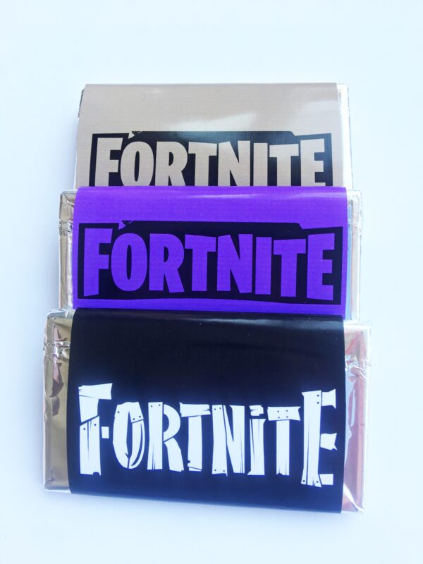 chocolatinas Fortnite