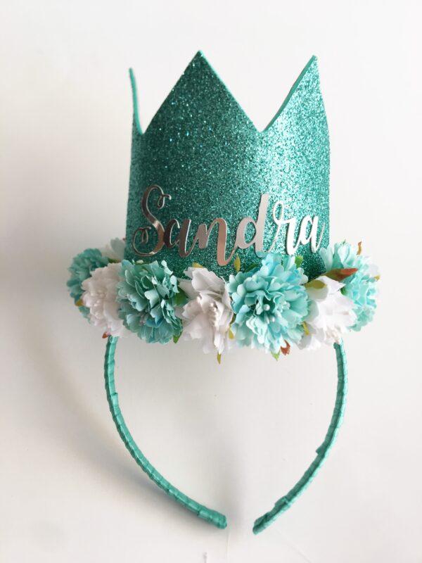 Corona cumpleaños Sirenita