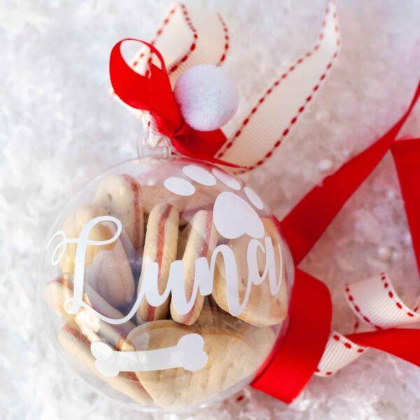foto principal bola de navidad mascota red