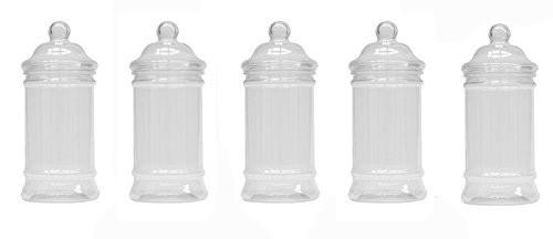 Bote de plástico 50 ml con tapa para chuches