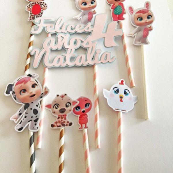 Topper Kit muñecas LOL personalizado + 4 muñecas