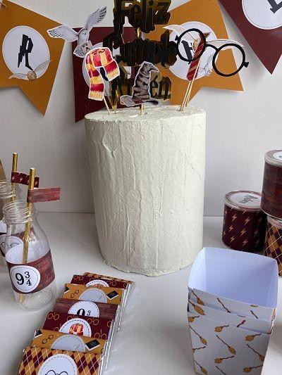 Kit de Fiesta Harry Potter Montado