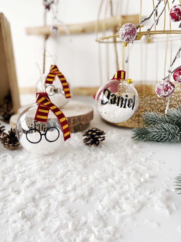Bola de Navidad Harry Potter personalizada