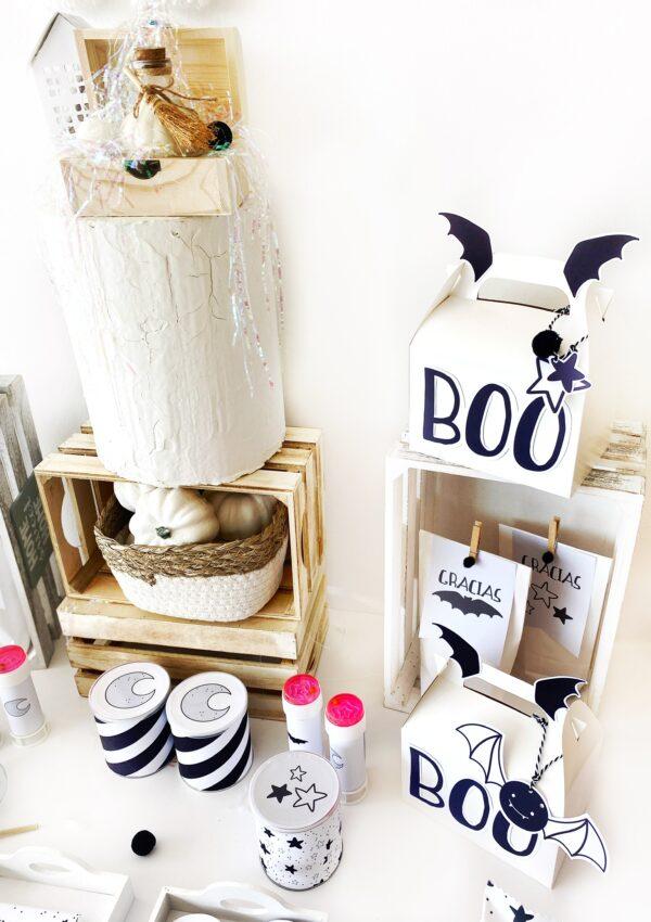Foto alternativa 2 - Party Box Halloween Black & White