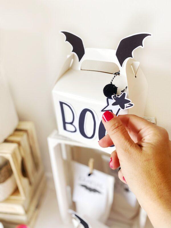 Foto alternativa 3 - Party Box Halloween Black & White